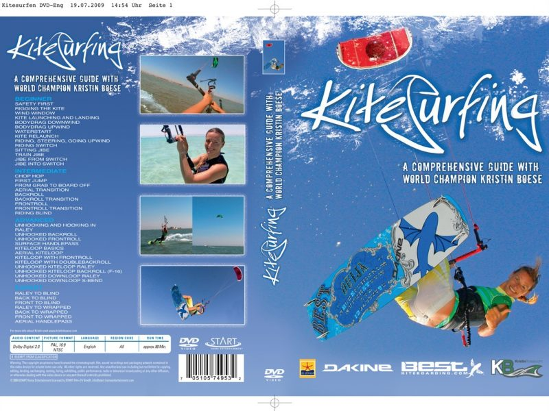 Kitesurfen DVD-Eng